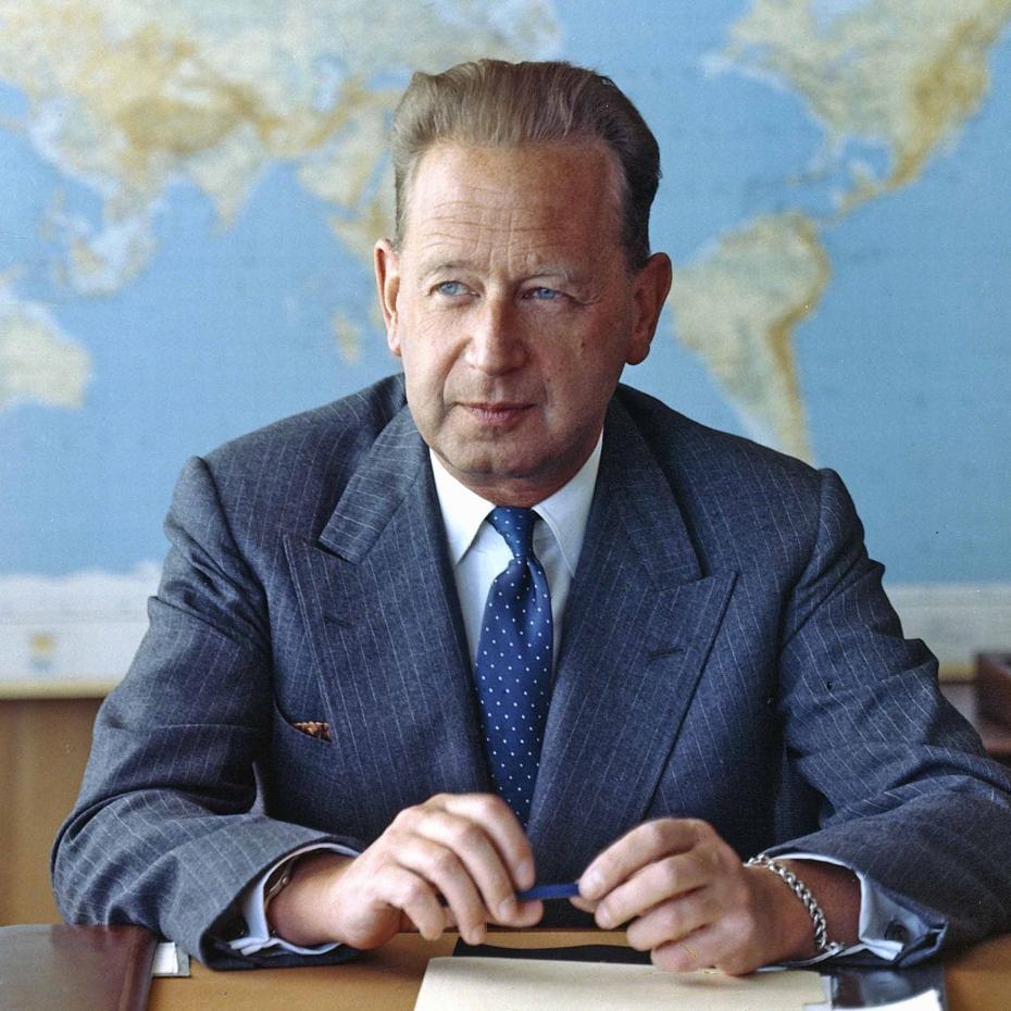 Hammarskjöld UN ufficiale